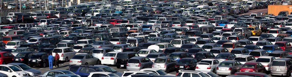 lot full of cars