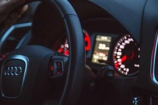 Audi Black Dashboard