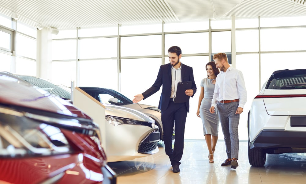 Common Car Salesperson Techniques the vehicle broker