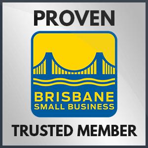 Brisbane Small Business Trust badge